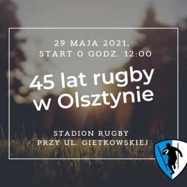 45 lecie rugby w Olsztynie